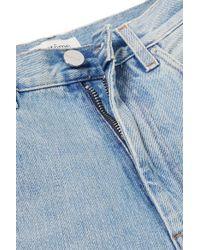 Totême  - Blue Original Mid-rise Straight-leg Jeans - Lyst