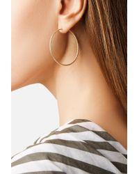Carolina Bucci - Metallic Florentine 18-karat Gold Hoop Earrings - Lyst