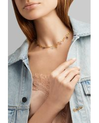 Marie-hélène De Taillac - Metallic Cloudy Night 22-karat Gold Multi-stone Necklace - Lyst