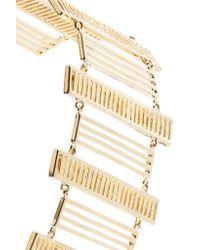 Arme De L'Amour - Metallic Chandelier Gold-plated Bracelet - Lyst