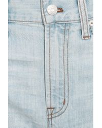Madewell - Blue The Perfect Embroidered Denim Shorts - Lyst