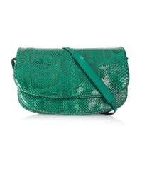 Bottega Veneta - Multicolor Small Python Messenger Bag - Lyst