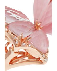 Stephen Webster - Pink Fly By Night 18-karat Rose Gold Multi-stone Ring - Lyst