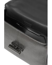 Tom Ford | Gray Natalia Metallic Watersnake Shoulder Bag | Lyst
