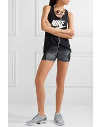 Nike | Multicolor Hypercool Dri-fit Mesh-paneled Printed Stretch Shorts | Lyst