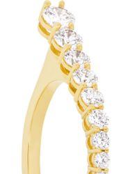 Melissa Kaye - Metallic Aria 18-karat Gold Diamond Ring Gold 6 - Lyst