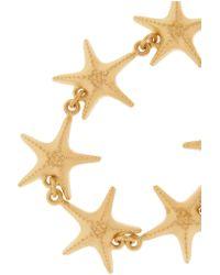 Valentino - Metallic Gold-Tone Necklace - Lyst