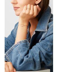 Ileana Makri - Metallic Mini Cross 18-karat Rose Gold Diamond Bracelet - Lyst