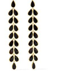 Ippolita - Metallic Rock Candy 18-karat Gold Onyx Earrings - Lyst