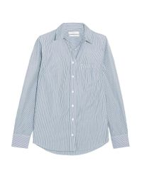 J.Crew | Blue Boy Striped Cotton-poplin Shirt | Lyst