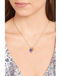Pippa Small - Metallic 18-karat Gold Tanzanite Necklace - Lyst