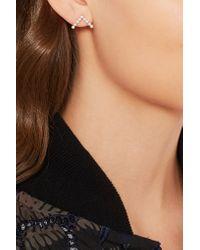 Yvonne Léon - Multicolor 18-karat White Gold Pearl Earring - Lyst