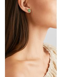 Melissa Joy Manning - Metallic 14-karat Gold Chrysoprase Earrings - Lyst