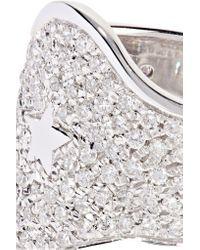 Carolina Bucci - 18-karat White Gold Diamond Ring - Lyst