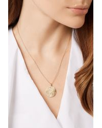 Brooke Gregson - Metallic Libra 14-karat Gold Diamond Necklace - Lyst