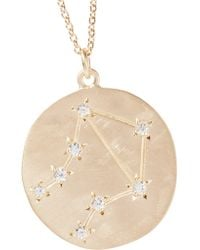 Brooke Gregson | Metallic Libra 14-karat Gold Diamond Necklace | Lyst