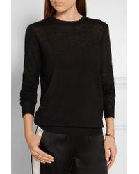 JOSEPH - Black Cashmere Sweater - Lyst