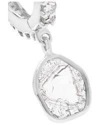 Ileana Makri - Blue Claw 18-karat White Gold Diamond Earring - Lyst