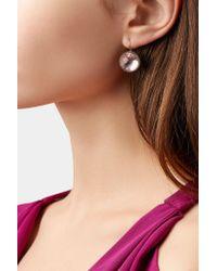 Larkspur & Hawk - Metallic Olivia Rhodium-dipped Topaz Earrings - Lyst