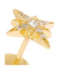 Venyx - Metallic Theiya 18-karat Gold Diamond Earrings - Lyst