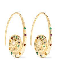 Venyx - Metallic Pharaonys 18-karat Gold Multi-stone Earrings - Lyst