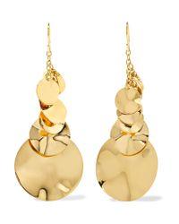 Ippolita - Metallic Glamazon® Spotlight 18-karat Gold Earrings - Lyst