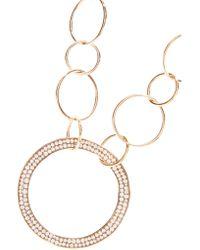 Ippolita - Metallic Glamazon® Stardust 18-karat Rose Gold Diamond Necklace - Lyst