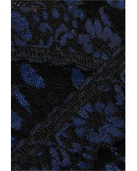 Hanky Panky - Blue Stretch-lace Chemise - Lyst