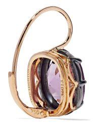 Fred Leighton | Metallic Collection 18-karat Gold Amethyst Earrings | Lyst