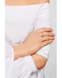 Tiffany & Co. - Metallic T Wire 18-karat Gold Diamond Ring - Lyst
