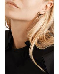 Sansoeurs - Metallic Arch 18-karat Gold Earring - Lyst