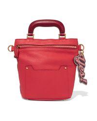 Anya Hindmarch   Orsett Mini Textured-leather Tote   Lyst