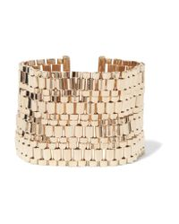 Lanvin | Metallic Gold-tone Bracelet | Lyst
