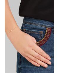 Ileana Makri | Metallic 18-karat Gold Diamond Bracelet | Lyst