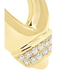 Yvonne Léon - Metallic 18-karat Gold Diamond Earring - Lyst