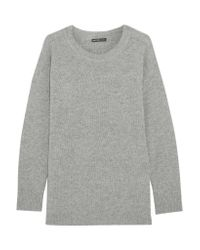 James Perse | Gray Oversized Cashmere Sweater | Lyst