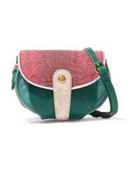 Jérôme Dreyfuss | Green Momo Mini Snake And Textured-leather Shoulder Bag | Lyst