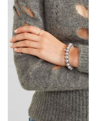 Chan Luu - Multicolor Leather, Pearl And Shell Bracelet - Lyst