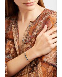 Brooke Gregson - Metallic Orbit 18-karat Gold Sapphire Cuff - Lyst
