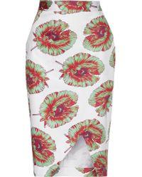 Altuzarra | Multicolor Wilcox Floral-print Pencil Skirt | Lyst