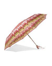 Missoni - Pink Printed Umbrella - Lyst