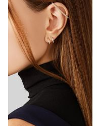 Repossi - Metallic Mini Creole 18-karat Rose Gold Diamond Ear Cuff - Lyst