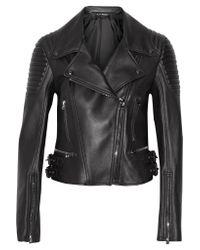 Tom Ford | Black Leather Biker Jacket | Lyst