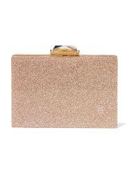 KOTUR | Metallic Taylor Glittered Perspex Box Clutch | Lyst