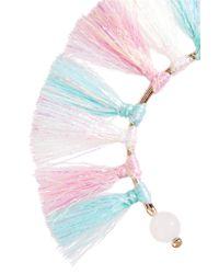 Rosantica - Multicolor Baby Tinsel, Turquoise And Quartz Bracelet - Lyst