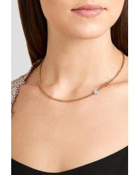 Pomellato - Metallic Sabbia 18-karat Rose Gold Diamond Necklace - Lyst