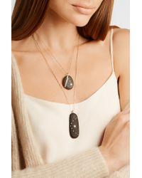 CVC Stones - Multicolor Divina 18-karat Gold, Stone And Diamond Necklace - Lyst