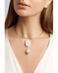 CVC Stones - Metallic Perla Piove 18-karat Gold Multi-stone Choker - Lyst