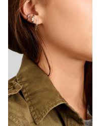 Catbird - Metallic Ballerina 14-karat Gold Earring - Lyst