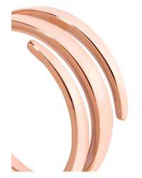 Anita Ko - Metallic 18-karat Rose Gold Pinky Ring - Lyst